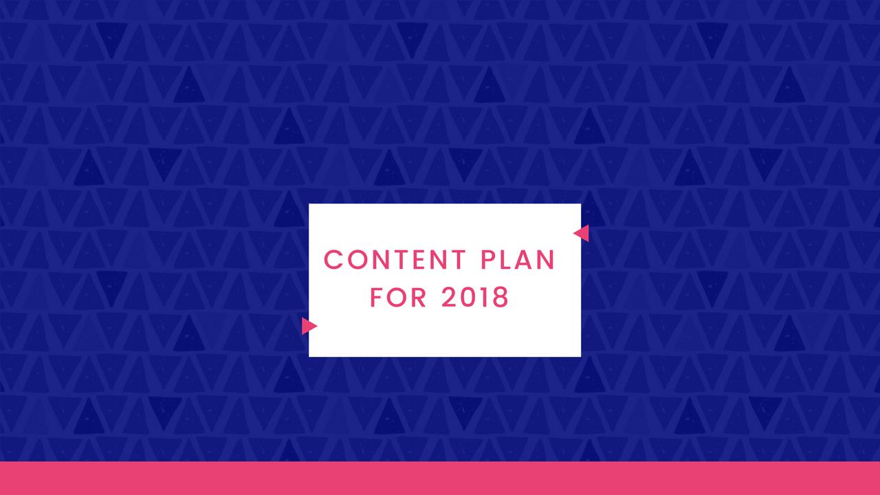 Natalie Live – Content Plan For 2018