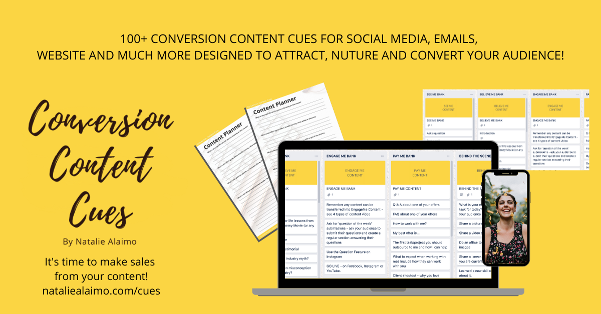 Conversion Content Cues