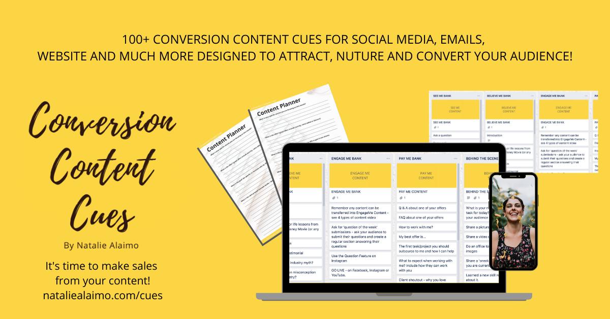 Conversion Content Cues