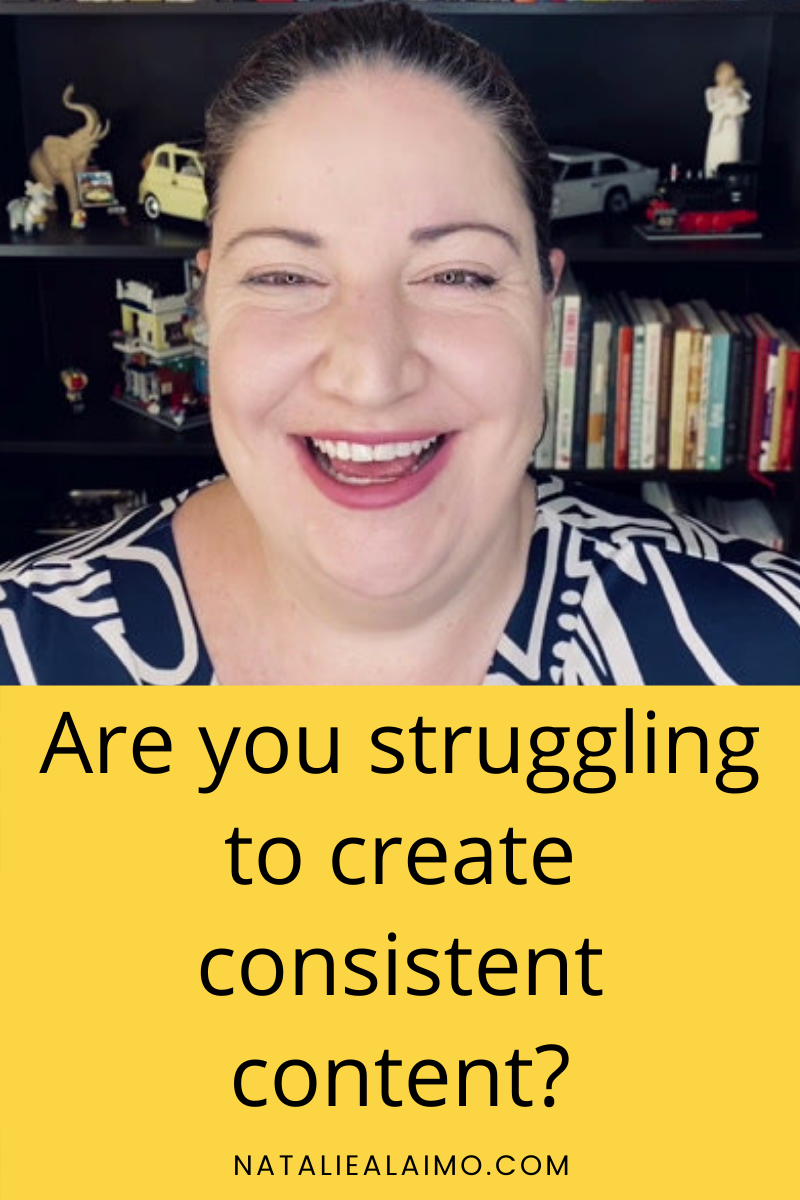 Are you struggling to create consistent content?
