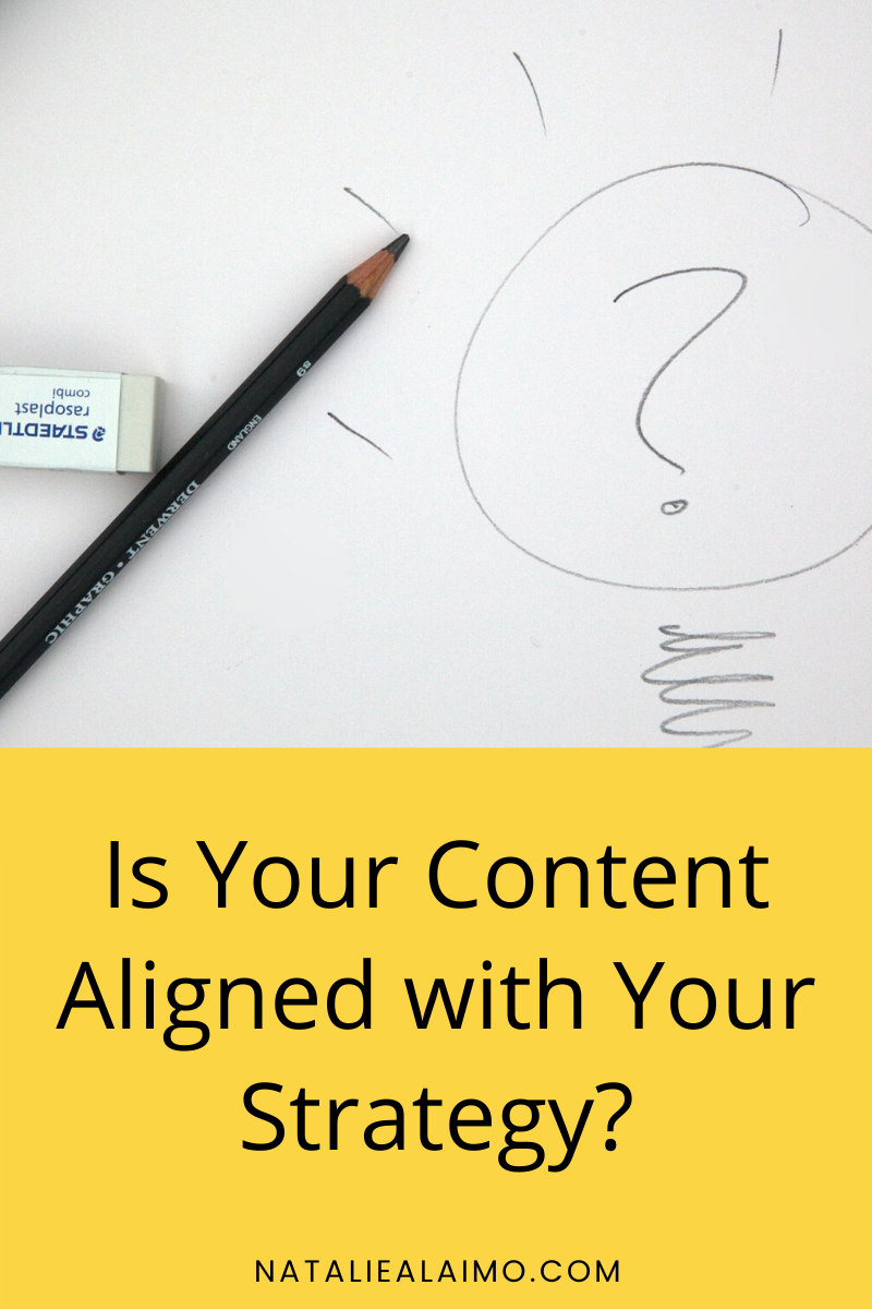 Content Aligned with Strategy l Pinterest Image
